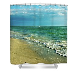 Treasure Island L Shower Curtain