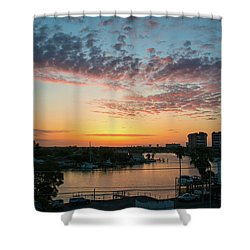 Treasure Island Sunrise Shower Curtain