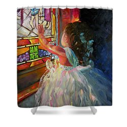Treasured Moments Shower Curtain