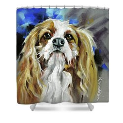 Treat Expectations Shower Curtain by Rae Andrews