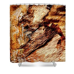 Tree Bark Series  - Patterns #2 Shower Curtain
