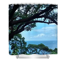 Tree Eyes Shower Curtain