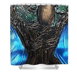 Tree Goddess Shower Curtain