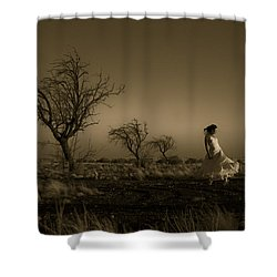 Tree Harmony Shower Curtain