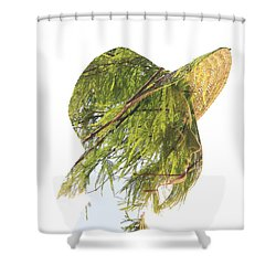 Tree Hat Shower Curtain