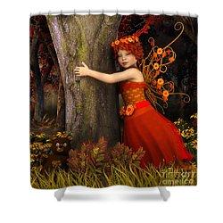 Tree Hug Shower Curtain