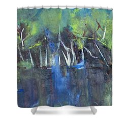 Tree Imagery Shower Curtain