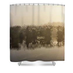 Tree Islands Shower Curtain