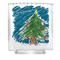 Tree Shower Curtain