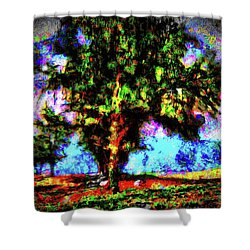 Tree Landscape 41 Shower Curtain