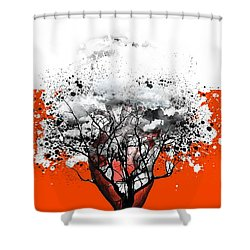 Tree Of Feelings Shower Curtain