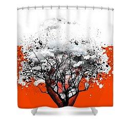 Tree Of Feelings Shower Curtain