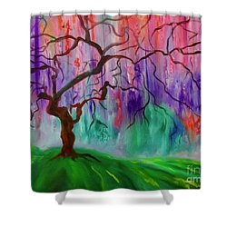 Tree Of Life 11 Shower Curtain