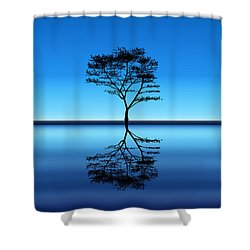 Shower Curtain featuring the photograph Tree Of Life by Bernd Hau