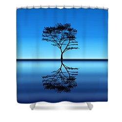 Tree Of Life Shower Curtain by Bernd Hau