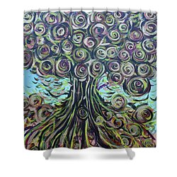 Tree Of Life- Fall Shower Curtain