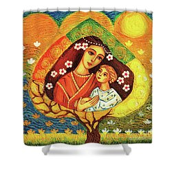 Tree Of Life II Shower Curtain