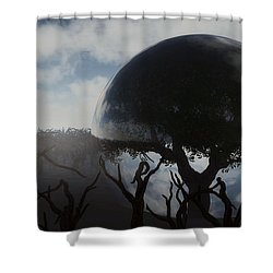 Tree Of Life  Shower Curtain by Richard Rizzo