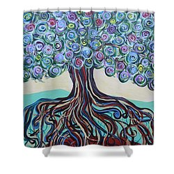 Tree Of Life-spring Shower Curtain