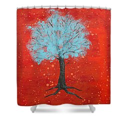 Nuclear Winter Shower Curtain