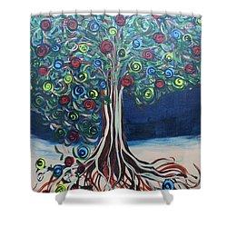Tree Of Life - Summer Shower Curtain