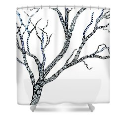 Tree Of Strength Shower Curtain