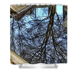Tree Reflection From No Where Photography Image Shower Curtain by James BO  Insogna