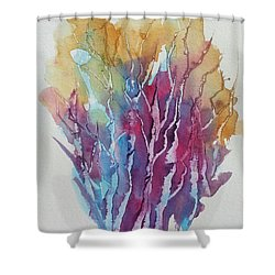 Tree Studies I Shower Curtain