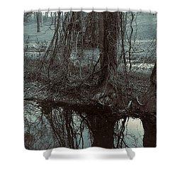 Tree Vines Water Shower Curtain