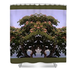 Treegate Neos Marmaras Shower Curtain