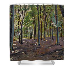 Trees Reeshofbos Shower Curtain