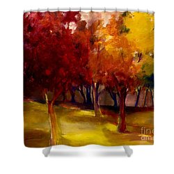 Treescape Shower Curtain