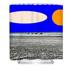 Trekking Shower Curtain by Patrick J Murphy