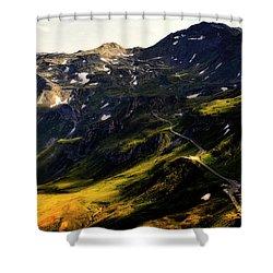 Trekking Thru Austria Shower Curtain