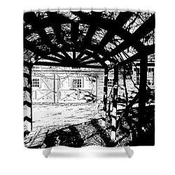 Trellis Pov Shower Curtain