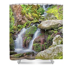 Tremont Road Waterfall Shower Curtain