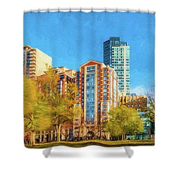 Tremont Street Shower Curtain
