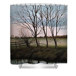 Trent Side Shower Curtain