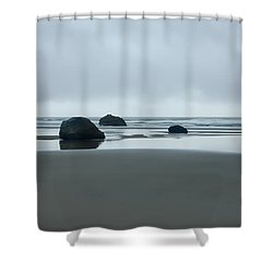 Tres Rocas Shower Curtain