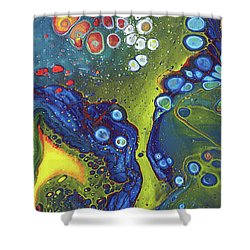 Tri Space Centre Shower Curtain