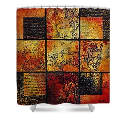 Trial By Fire Shower Curtain
