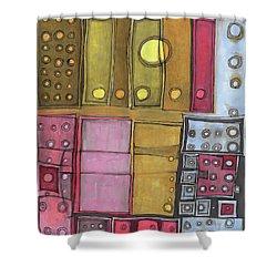 Geometric I Shower Curtain