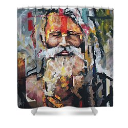 Tribal Chief Sadhu Shower Curtain