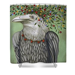 Tribal Nature Shower Curtain by Leah Saulnier The Painting Maniac