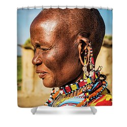 Tribal Traditions Shower Curtain