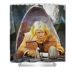 Tribunal Trump Shower Curtain