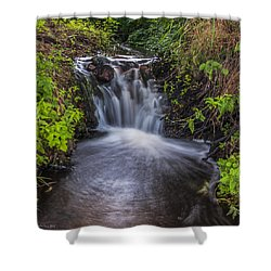 Tributary Rush Shower Curtain