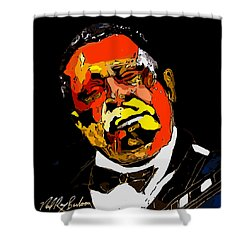 tribute to BB King reworked Shower Curtain
