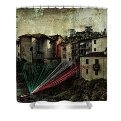 Tribute To Italy Shower Curtain