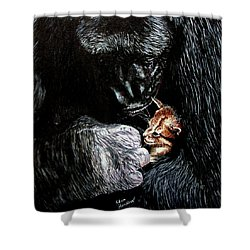 Tribute To Koko Shower Curtain by Stan Hamilton